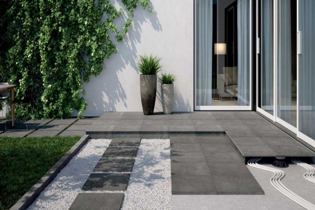 Poser du carrelage exterieur sur plot for Poser carrelage sur carrelage