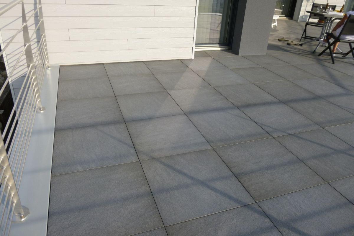 Latest Carrelage Extrieur Antidrapant X Mm Sur Plot With Carrelage  Exterieur Terrasse Antidrapant
