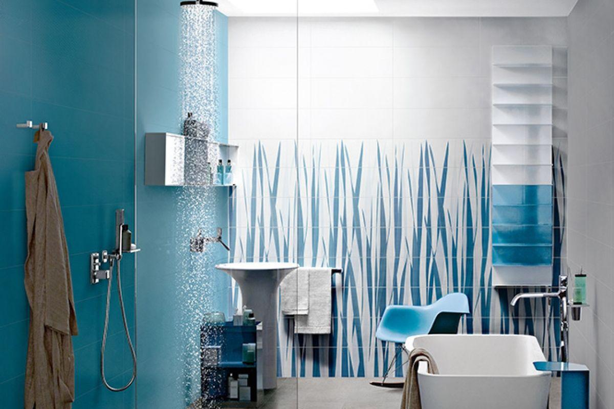 Faience de salle de bains lorient show room de 400m for Salle de bain carrelage vertical