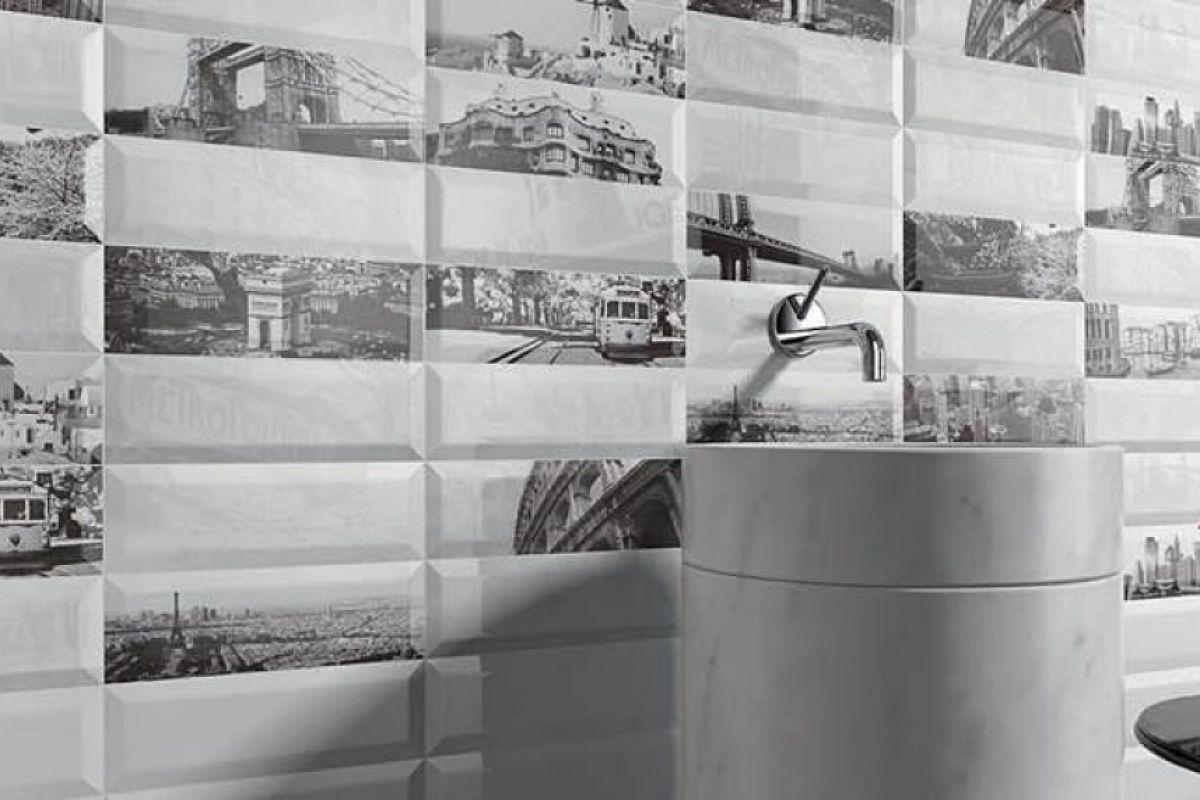 Faience de salle de bains lorient show room de 400m for Salle bain carrelage metro